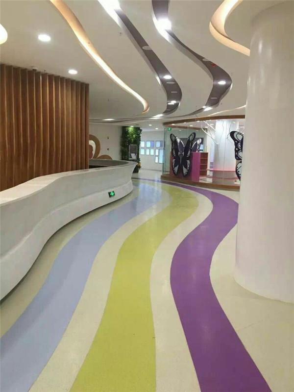 江油PVC塑胶地板